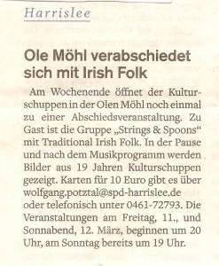 Flensburger Tageblatt, 10.03.2016