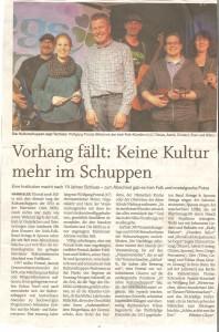 Flensburger Tageblatt, 14.03.2016