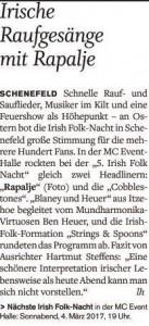 Norddeutsche Rundschau 29.03.2016